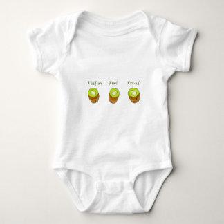 The kiwi trio baby bodysuit