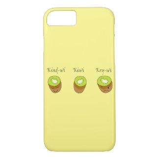 The kiwi trio iPhone 7 case