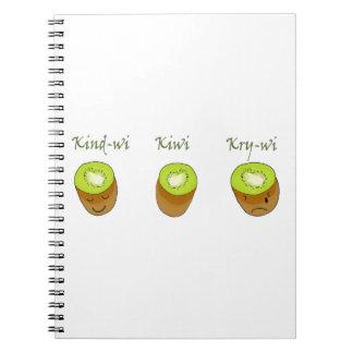 The kiwi trio notebook
