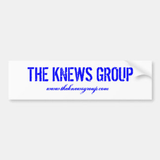 """The Knews Group"" Bumper Sticker"