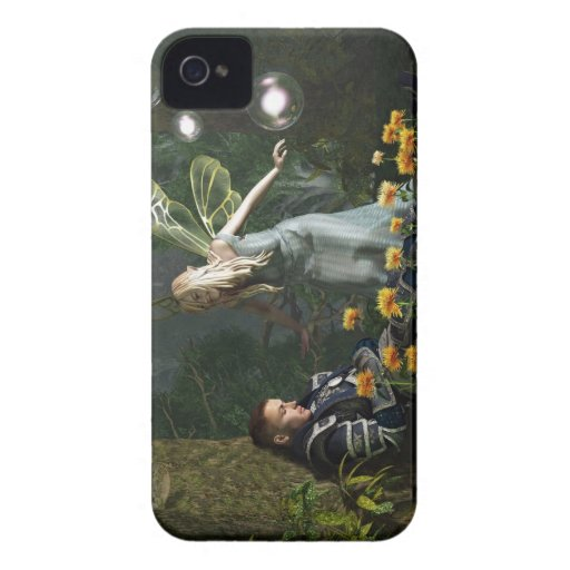 The Knight and The Faerie Blackberry Cases