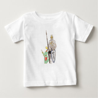 The knights, cute animals illustration baby T-Shirt