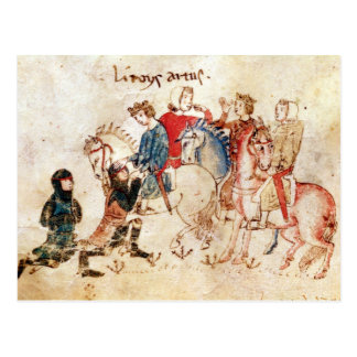 The Knights Esclabor and Arphasar Offer Postcard