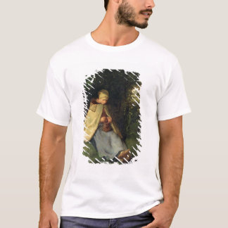 The Knitter or, The Seated Shepherdess, 1858-60 T-Shirt