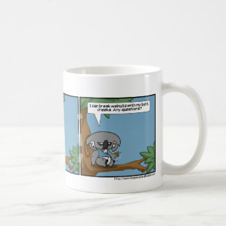 The Koala Speaks Again Coffee Mug