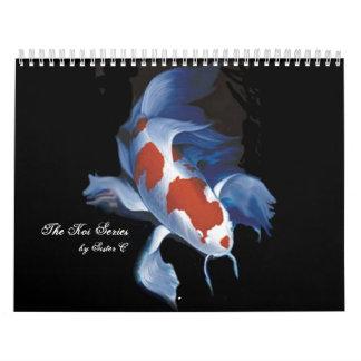 The Koi Series, by Sister C Wall Calendar