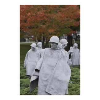 The Korean War Veterans Memorial Poster
