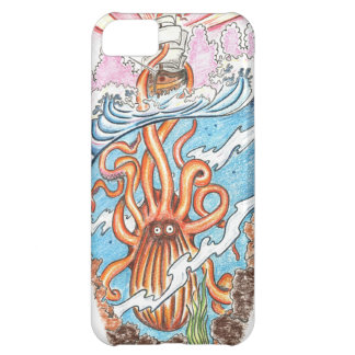 The Kraken iPhone 5C Case