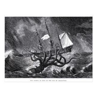The Kraken Postcard
