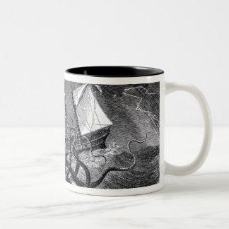 The Kraken Two-Tone Mug