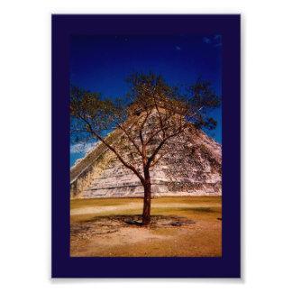 The Kukulkan Pyramid Art Photo