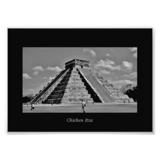 The Kukulkan Pyramid Photo Print