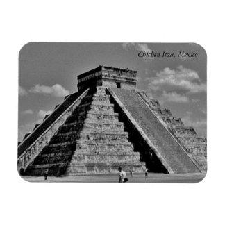The Kukulkan Pyramid Rectangular Photo Magnet