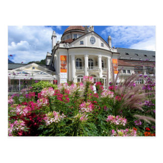 The Kurhaus of Meran, South Tyrol Postcard