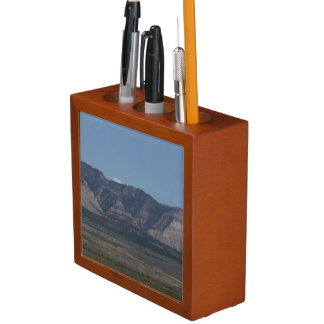 The La Sal Mountains Desk Organizer