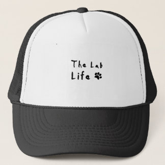 the lab life trucker hat