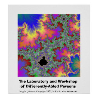 The Laboratory and Workshop of Differently-Abled.. Poster
