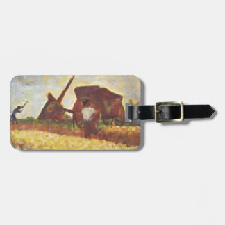 The Laborers by Georges Seurat Bag Tag