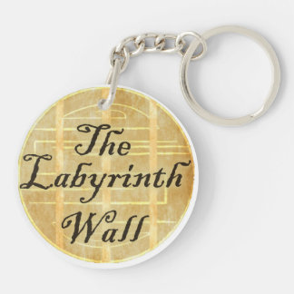 The Labyrinth Wall Double-Sided Round Acrylic Keychain