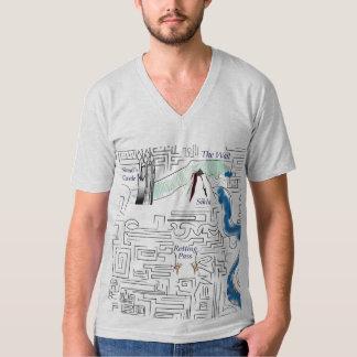 The Labyrinth Wall Map Shirt