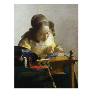 The Lacemaker, 1669-70 Postcard