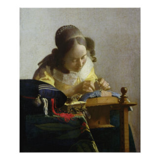 The Lacemaker 1669-70 Poster