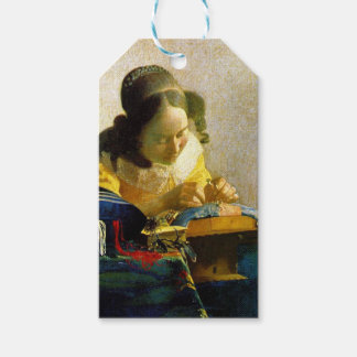 The Lacemaker, Jan Johannes Vermeer Gift Tags