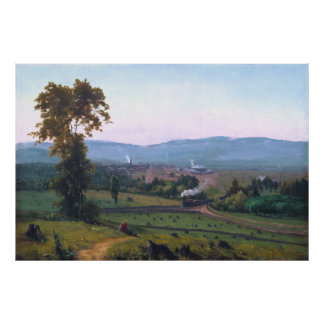 The Lackawanna Valley by George Inness Poster