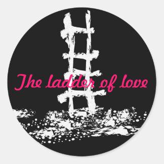 The ladder of love - sticker