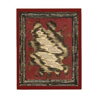 The Ladder Wood Prints
