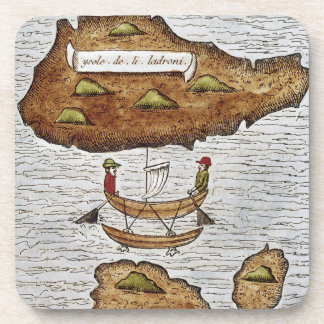THE LADRONE ISLANDS DRINK COASTERS