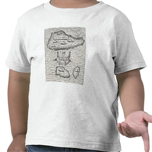 The Ladrones', from Amoretti's Pigafetta Tshirt