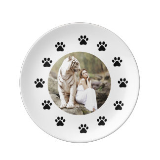 The Lady and The Tiger Plate