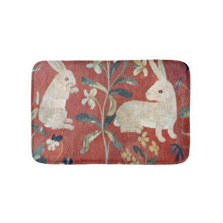 The Lady and the Unicorn: 'Taste' 2 Bath Mat