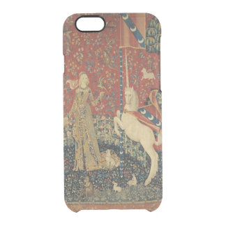 The Lady and the Unicorn: 'Taste' Clear iPhone 6/6S Case
