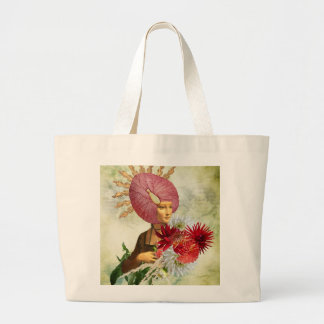 The Lady Large Tote Bag