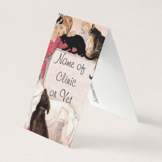 The Lady Loves Dogs and Cats Business Card