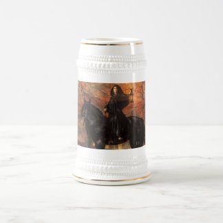 The Lady of Halloween Beer Stein