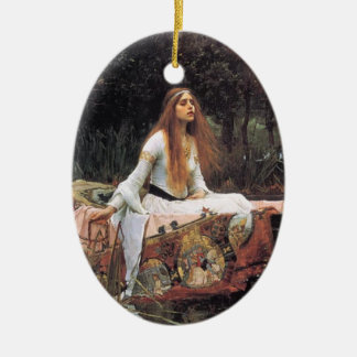 The Lady of Shallot Ornament