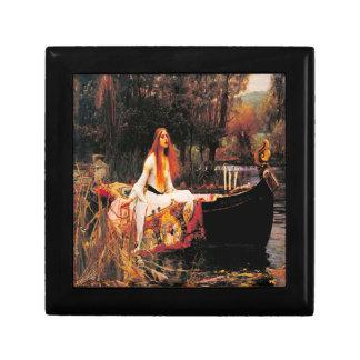 The Lady of Shalott Jewelry Keepsake Box
