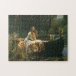The Lady of Shalott (On Boat) by JW Waterhouse Puzzles