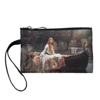 The lady of shalott painting change purse