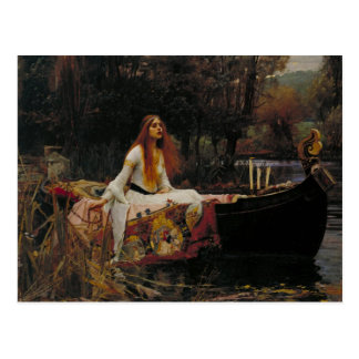 The Lady of Shalott Postcard