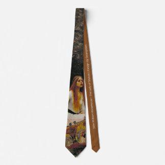 The Lady of Shalott Tie