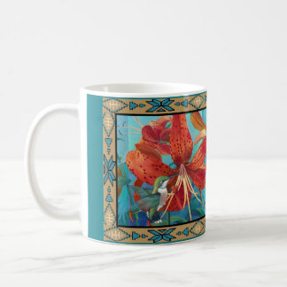 The Lady or The Tiger - Art by Kathy Morrow Coffee Mug