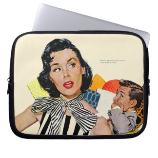 The Lady Was Insulted Laptop Sleeve