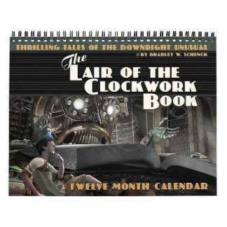 The Lair of the Clockwork Book Calendar
