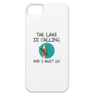 The Lake Is Calling iPhone 5 Case