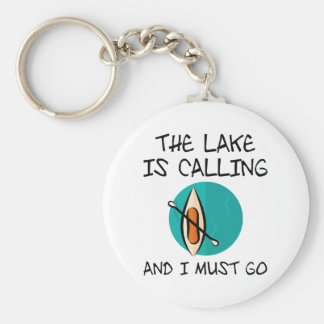The Lake Is Calling Keychain