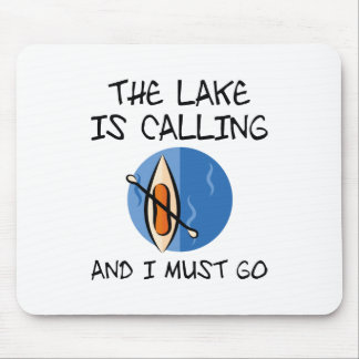 The Lake Is Calling Mouse Pad